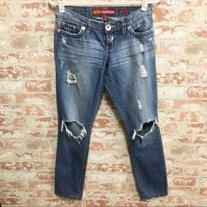BOGO Hot Kiss Distressed Chloe Skinny Jeans